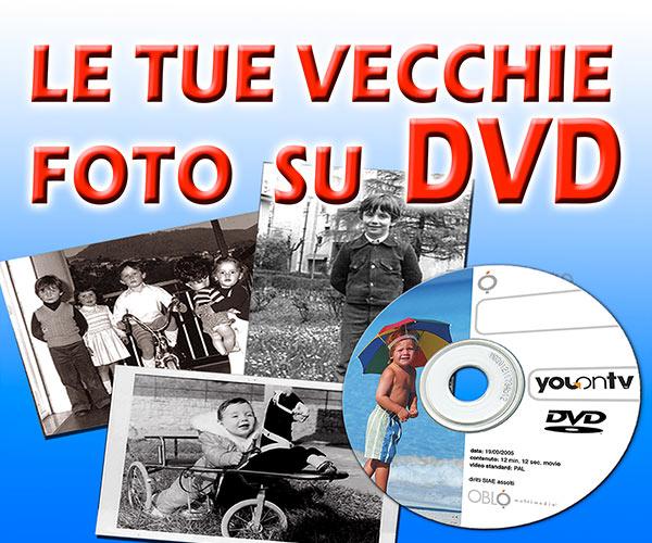Scansioni vecchie foto su DVD
