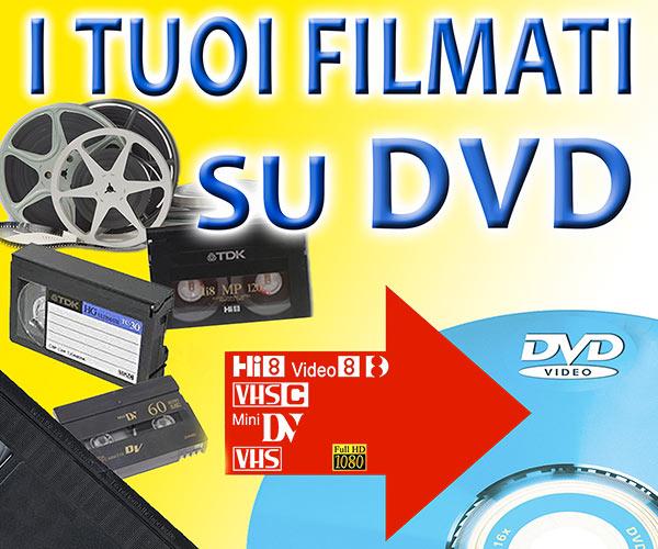 Filmati su DVD